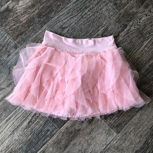 Gap kids pink tulle skirt